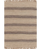 RugStudio presents Dash And Albert Jute Ticking 92371 Java Woven Area Rug