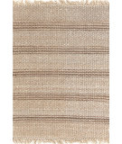 RugStudio presents Dash And Albert Jute Ticking 92372 Natural Woven Area Rug