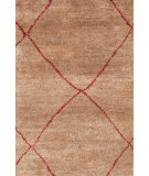 RugStudio presents Dash And Albert Kahina 105518 Crimson Hand-Knotted, Good Quality Area Rug