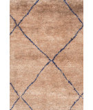 RugStudio presents Dash And Albert Kahina 105519 Indigo Hand-Knotted, Good Quality Area Rug