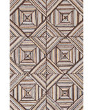 RugStudio presents Dash And Albert Kaledo Grey Hand-Hooked Area Rug