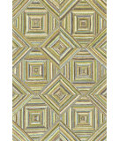 RugStudio presents Rugstudio Sample Sale 64420R Green Hand-Hooked Area Rug