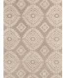 RugStudio presents Dash And Albert Lace Medallion Gray Hand-Tufted, Good Quality Area Rug