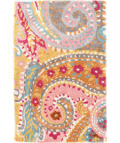RugStudio presents Dash And Albert Lyric Paisley 110822 Multi Hand-Tufted, Good Quality Area Rug