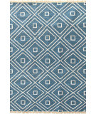 RugStudio presents Dash And Albert Mali 105527 Indigo Flat-Woven Area Rug