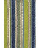 RugStudio presents Dash and Albert Marina Stripe Flat-Woven Area Rug