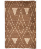 RugStudio presents Dash And Albert Masinissa Geometric Camel Hand-Hooked Area Rug