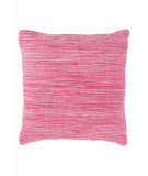 RugStudio presents Dash And Albert Mingled Fresh American Pillow Fuchsia