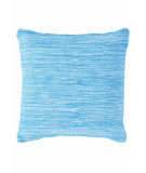 RugStudio presents Dash And Albert Mingled Fresh American Pillow Turquoise