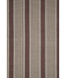 RugStudio presents Dash and Albert Morgan 56229 Chocolate Flat-Woven Area Rug