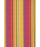 RugStudio presents Dash And Albert Mums Stripe Woven Area Rug