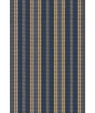 RugStudio presents Dash and Albert Otis 56236 Navy Flat-Woven Area Rug