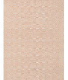 RugStudio presents Dash And Albert Petit Diamond RDB351 Dusty Pink - Ivory Flat-Woven Area Rug