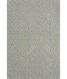 RugStudio presents Dash and Albert Plain Tin 56240 Slate Hand-Hooked Area Rug