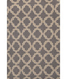 RugStudio presents Dash and Albert Plain Tin 56238 Charcoal Hand-Hooked Area Rug