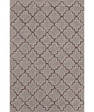 RugStudio presents Dash And Albert Plain Tin 105548 Grey Hand-Hooked Area Rug