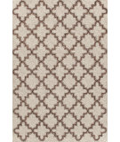 RugStudio presents Dash And Albert Plain Tin Oatmeal Hand-Hooked Area Rug