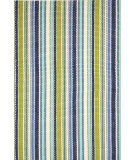 RugStudio presents Dash and Albert Pond 56241 Stripe Flat-Woven Area Rug