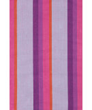RugStudio presents Dash And Albert Quartz 64428 Stripe Woven Area Rug