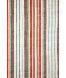 RugStudio presents Dash and Albert Ranch 56243 Stripe Flat-Woven Area Rug