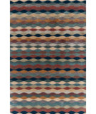 RugStudio presents Dash And Albert Ripple Cinnamon Hand-Tufted, Good Quality Area Rug