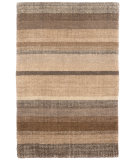 RugStudio presents Dash And Albert Rock Hill Stripe Neutral Flat-Woven Area Rug