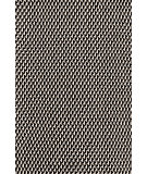 RugStudio presents Dash And Albert Two Tone Rope 72675 Black/Ivory Flat-Woven Area Rug
