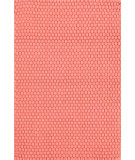 RugStudio presents Dash And Albert Rope 105552 Coral Flat-Woven Area Rug