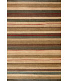 RugStudio presents Dash And Albert Saddle 72665 Stripe Woven Area Rug