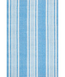 RugStudio presents Dash and Albert Sail Stripe Blue Flat-Woven Area Rug