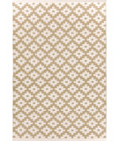 RugStudio presents Dash And Albert Samode 92387 Khaki/Ivory Flat-Woven Area Rug