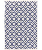 RugStudio presents Rugstudio Sample Sale 92383R Denim/Ivory Flat-Woven Area Rug