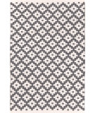 RugStudio presents Dash And Albert Samode 92386 Graphite/Ivory Flat-Woven Area Rug