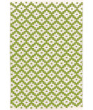 RugStudio presents Dash And Albert Samode 92389 Sprout/Ivory Flat-Woven Area Rug