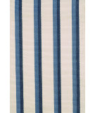RugStudio presents Dash and Albert Side 56257 Bar Flat-Woven Area Rug