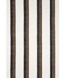 RugStudio presents Dash and Albert Side Bar 56258 Black Flat-Woven Area Rug