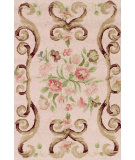 RugStudio presents Dash and Albert Siena Rose Hand-Hooked Area Rug