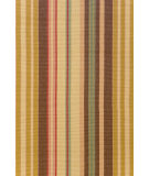 RugStudio presents Dash and Albert Sienna Stripe Flat-Woven Area Rug
