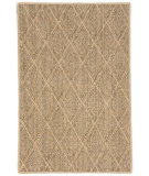 RugStudio presents Dash And Albert Diamond Rda430 Natural Sisal/Seagrass/Jute Area Rug