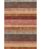 RugStudio presents Dash And Albert Stonover 92390 Stripe Hand-Knotted, Good Quality Area Rug