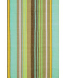RugStudio presents Dash and Albert Tortola 56283 Ticking Flat-Woven Area Rug