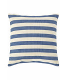 RugStudio presents Dash And Albert Trimaran Pillows Denim/Ivory
