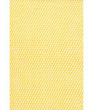 RugStudio presents Dash And Albert Two Tone Rope 72677 Daffodill/White Flat-Woven Area Rug