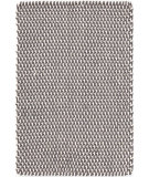 RugStudio presents Dash And Albert Two-Tone Rope 105571 Graphite/Ivory Woven Area Rug