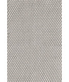 RugStudio presents Dash And Albert Two Tone Rope 72681 Platinum/Ivory Flat-Woven Area Rug