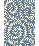 RugStudio presents Dash and Albert Vine 56287 Denim Hand-Tufted, Good Quality Area Rug