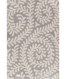 RugStudio presents Dash And Albert Vine 86185 Platinum Hand-Tufted, Good Quality Area Rug