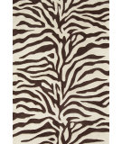 RugStudio presents Dash and Albert Zebra  Hand-Tufted, Good Quality Area Rug