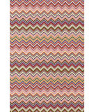 RugStudio presents Dash And Albert Zigzag 92392 Multi Hand-Hooked Area Rug