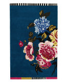 RugStudio presents Designers Guild Premier Amrapali Indigo Hand-Tufted, Good Quality Area Rug